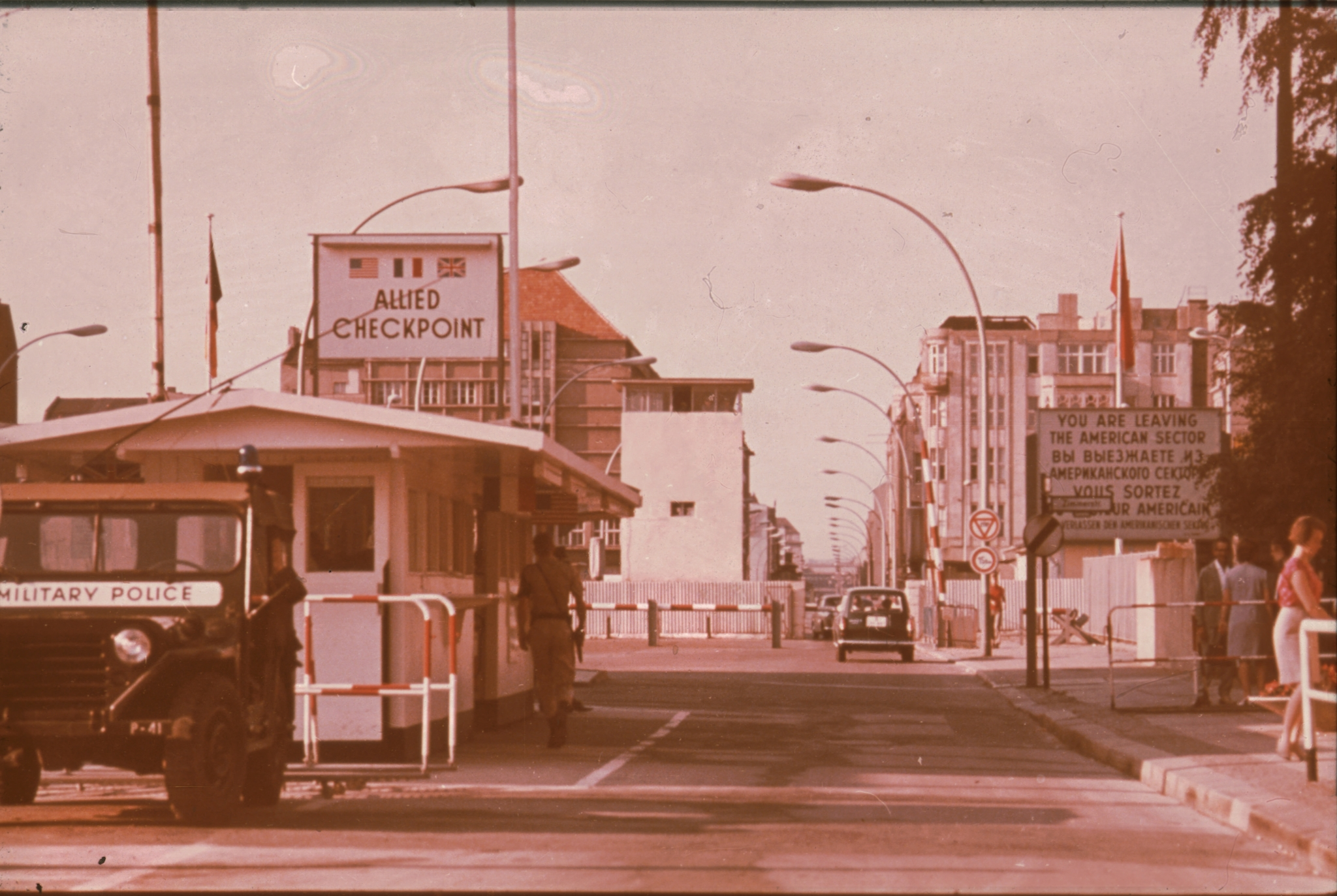 Die Berliner Mauer um 1973 - Berlin Wall - Daniel Rohde-Kage 50