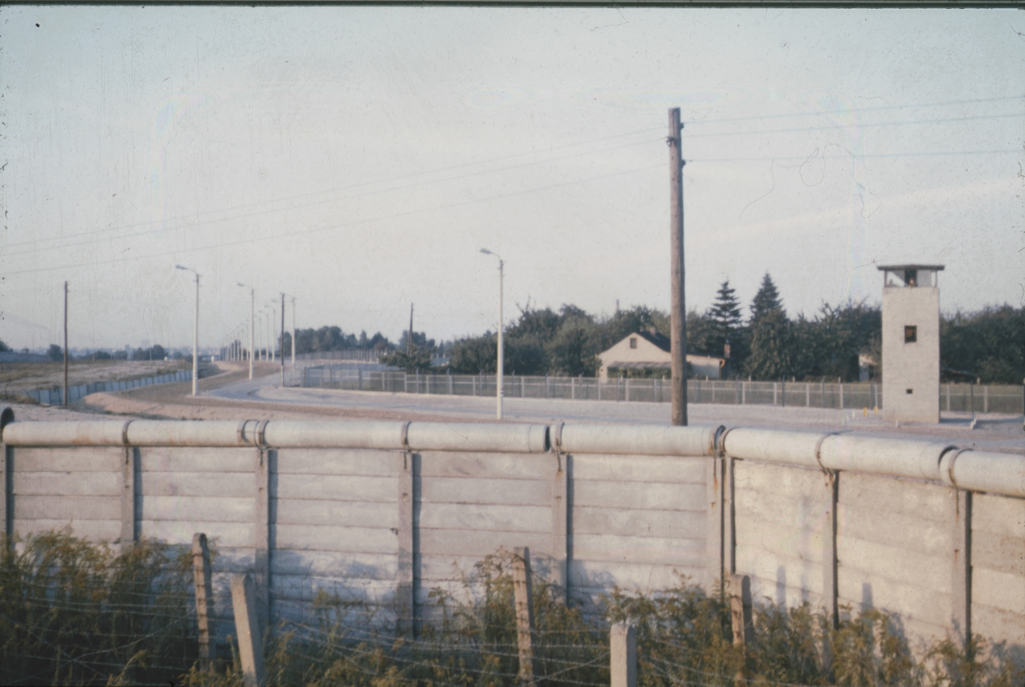 Die Berliner Mauer um 1973 - Berlin Wall - Daniel Rohde-Kage 52
