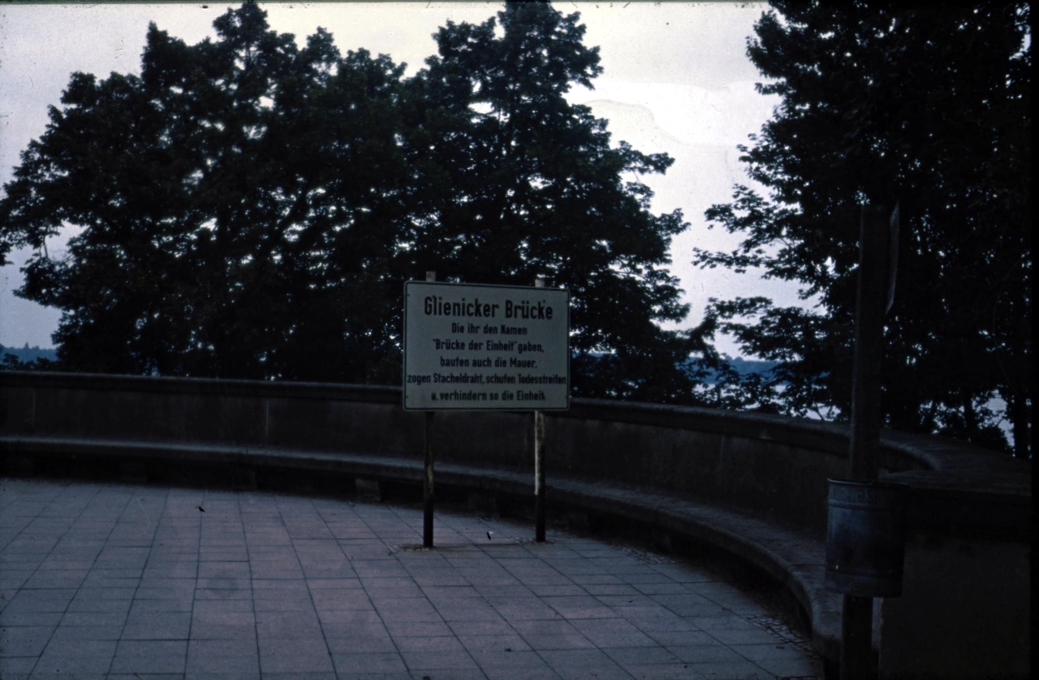 Die Berliner Mauer um 1973 - Berlin Wall - Daniel Rohde-Kage 55