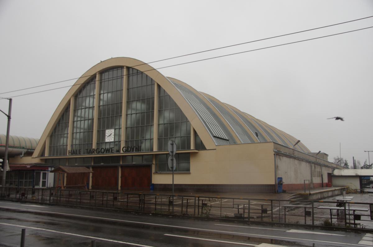 Gdynia market-hall