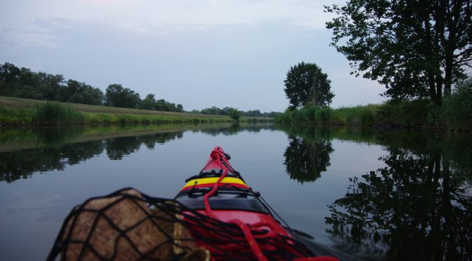 Kayaking the Oder/Odra East and West